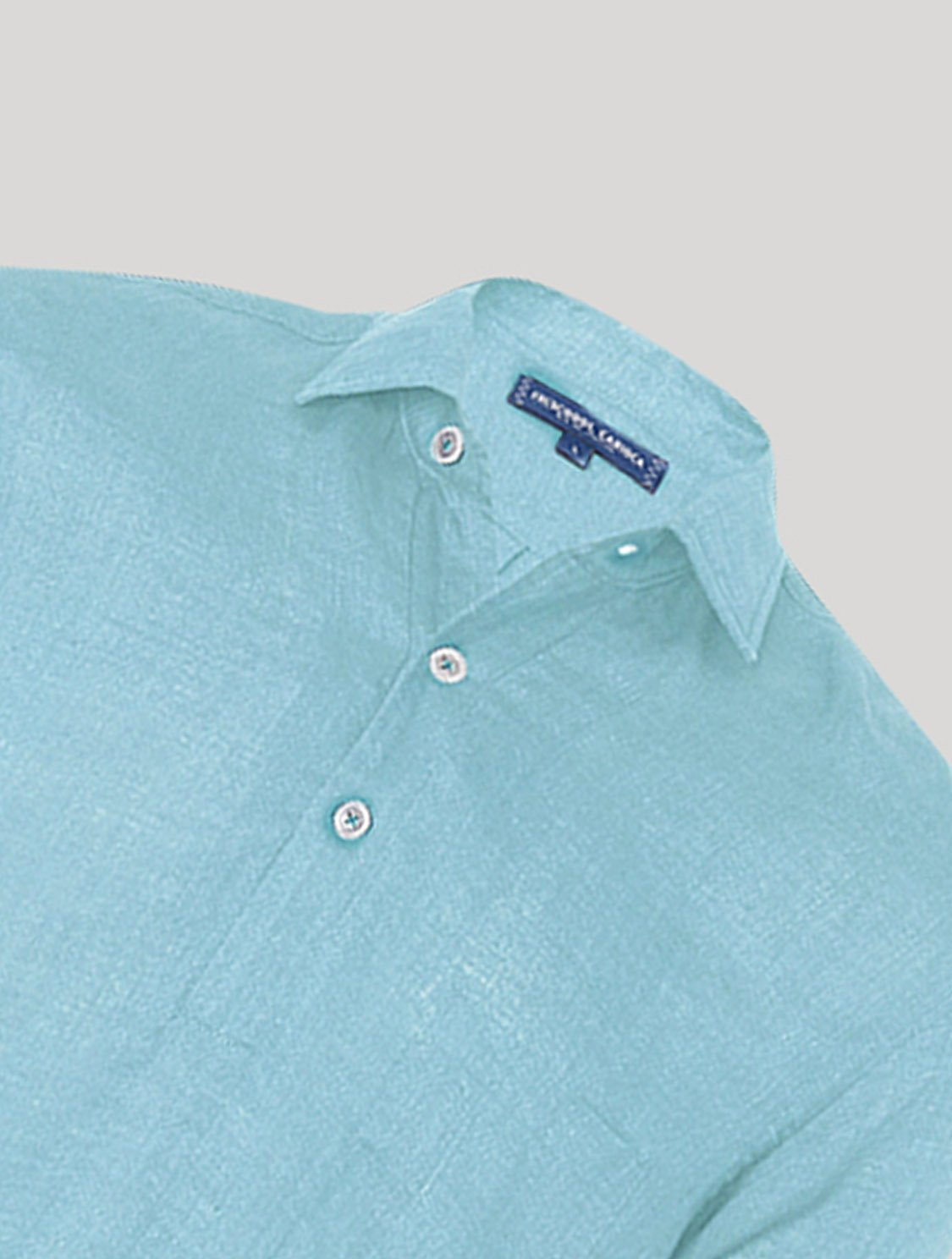 Half Placket Linen Shirt