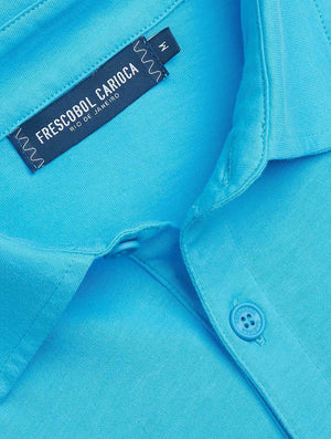 Oscar Half Placket Jersey Polo Shirt