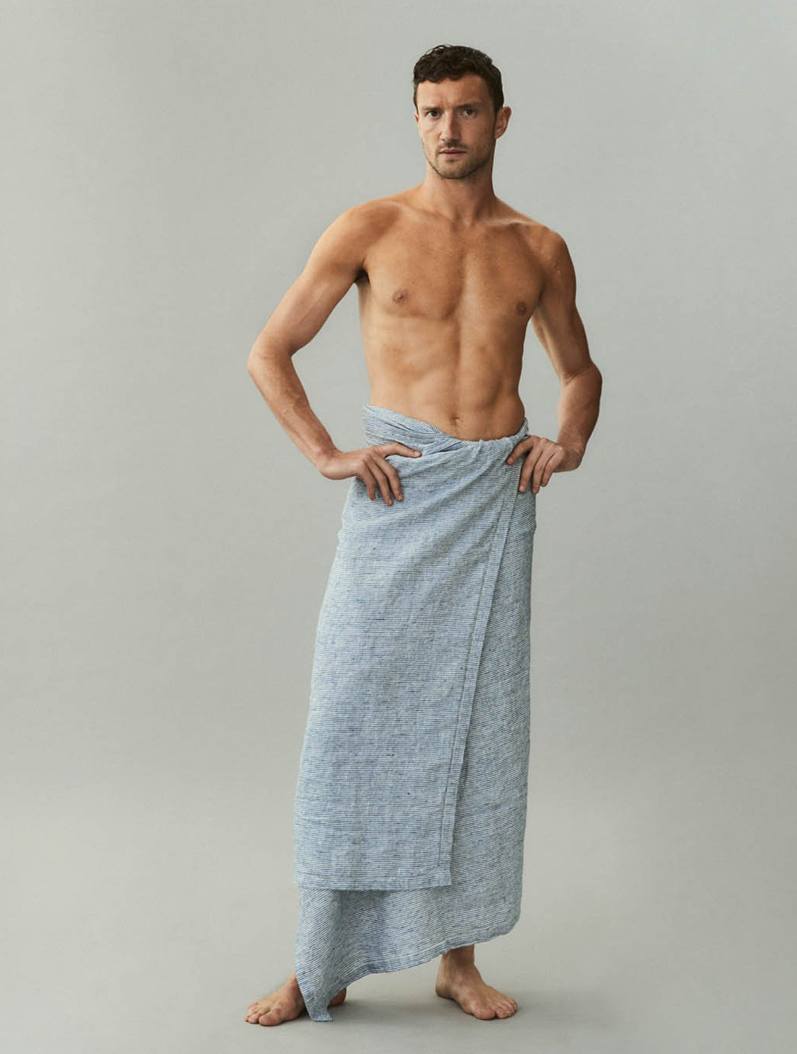 BEACH TOWEL THIN STRIPE