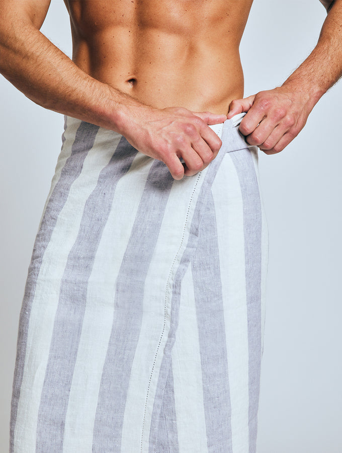 BEACH TOWEL MEDIUM STRIPE