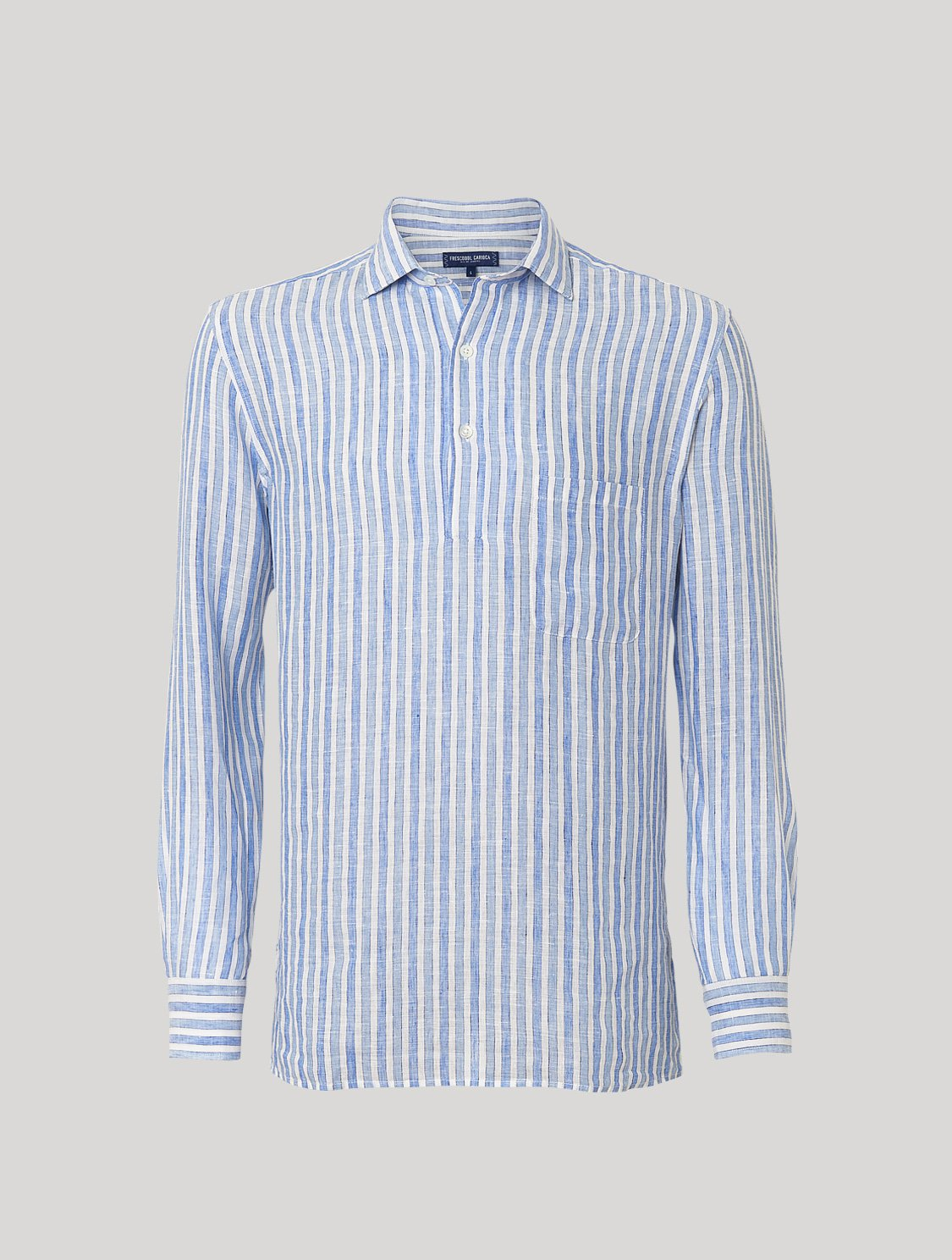 CAETANO SHIRT DASHED STRIPE PRINT
