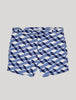 Cube Print Tailored Swim Shorts