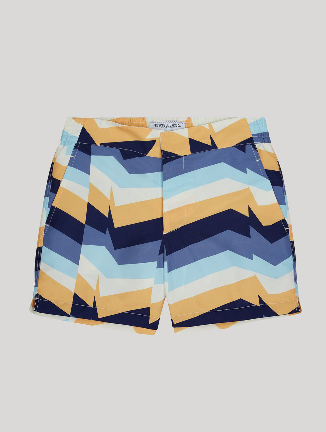 CLASSIC SWIM SHORTS DISTILLATION PRINT