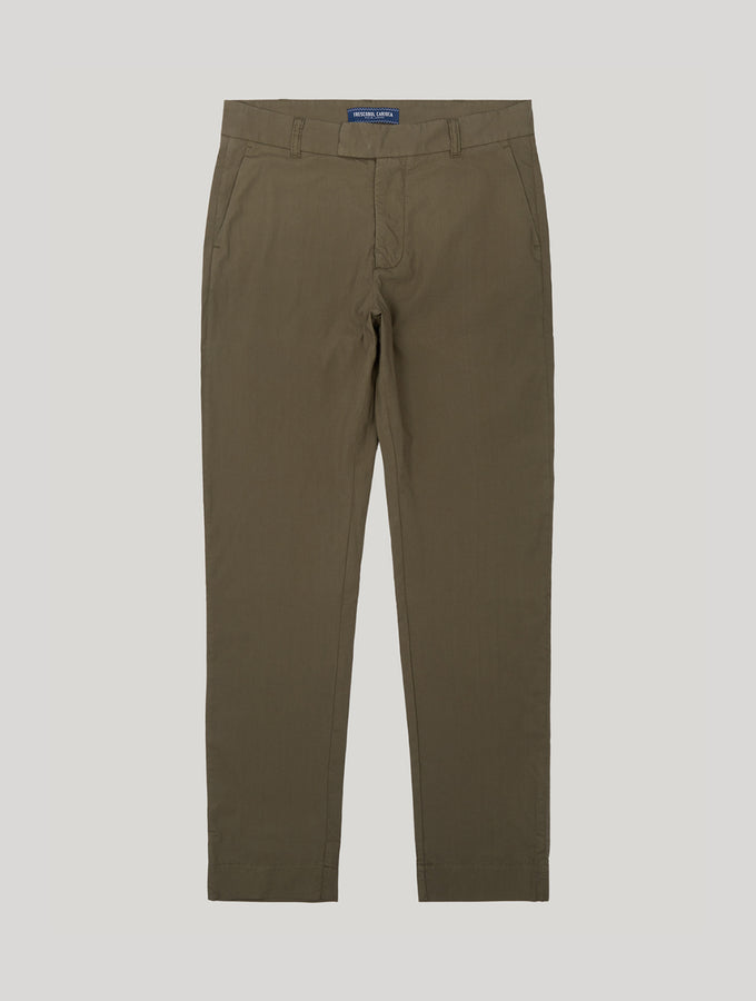 Tropical Cotton Tailored Trousers