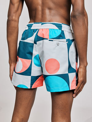 SPORT SWIM SHORTS COPIC PRINT