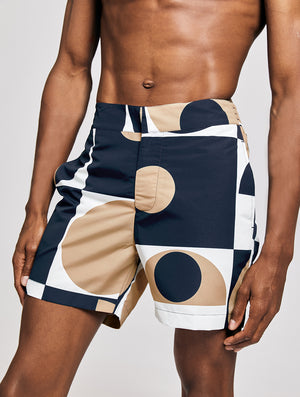 CLASSIC SWIM SHORTS COPIC PRINT