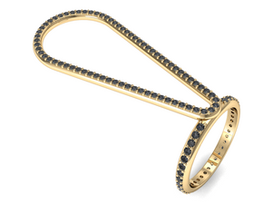 Vancelette Signature DREAM TIME PALM RING | ARIS COLLECTION Merging Medical with Luxury