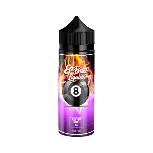 8 Ball Liquids - Aloe Vera Grape Ice 120ml
