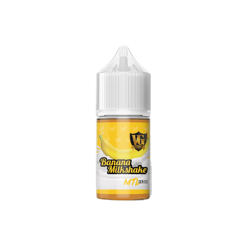 VG Master - Banana Milkshake Nic Salts 30ml 25mg