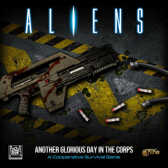 Aliens - Another Glorious Day in the Corps (Including Assets and Hazards)