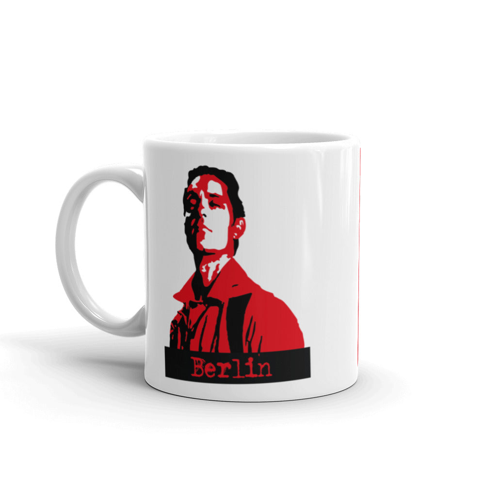 Money Heist - Berlin - Mug - olafan