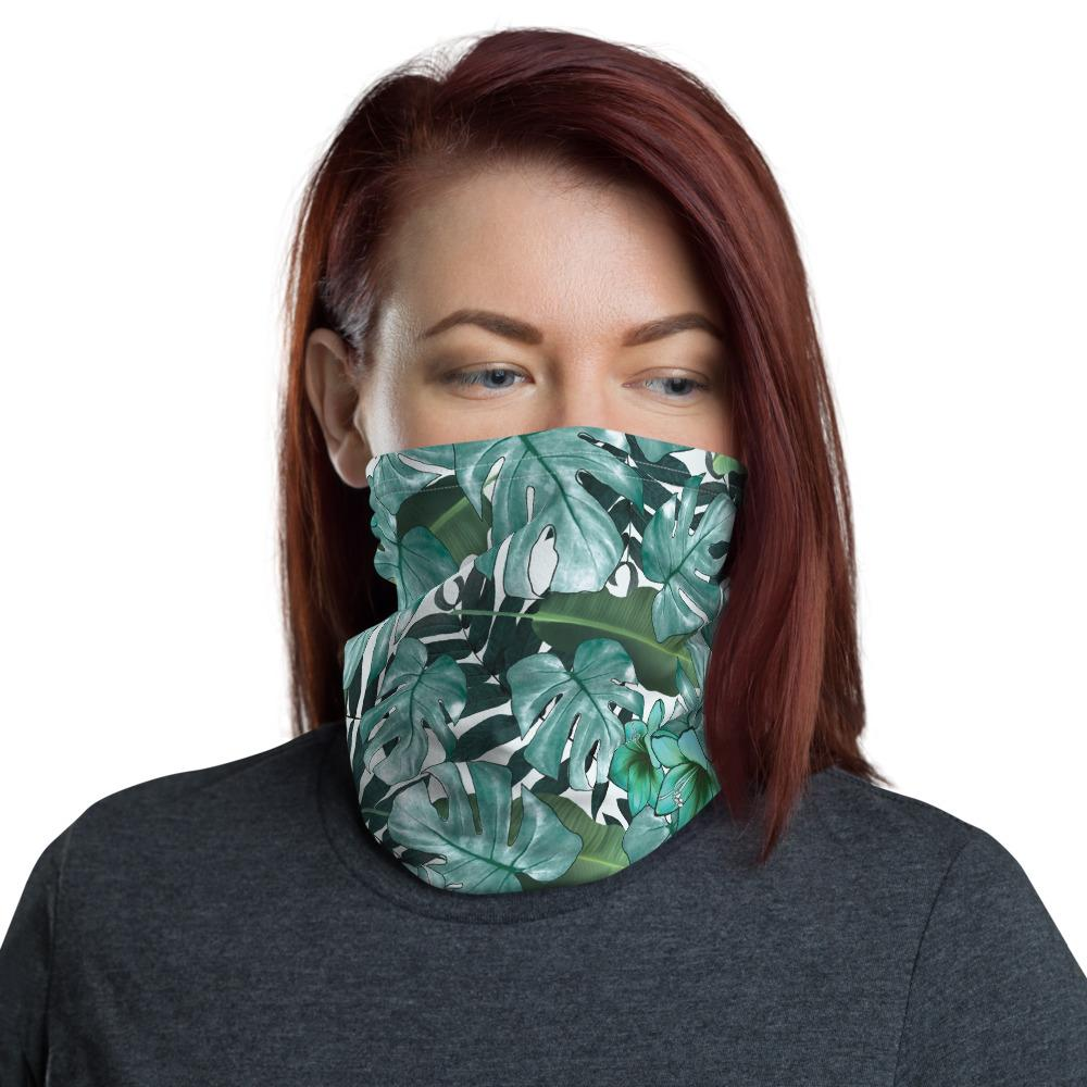 Neck Gaiter - Face mask - Green design - OlaFan