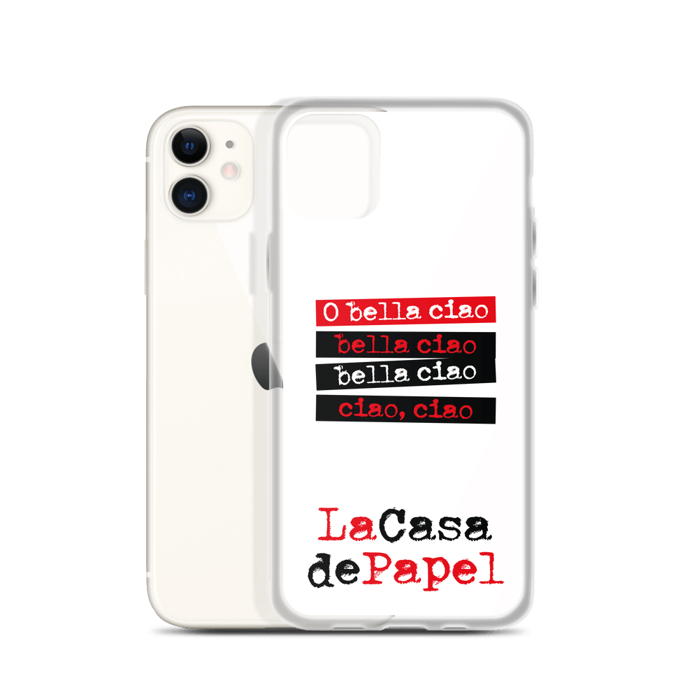 Money Heist - Bella Ciao-iPhone Case - olafan