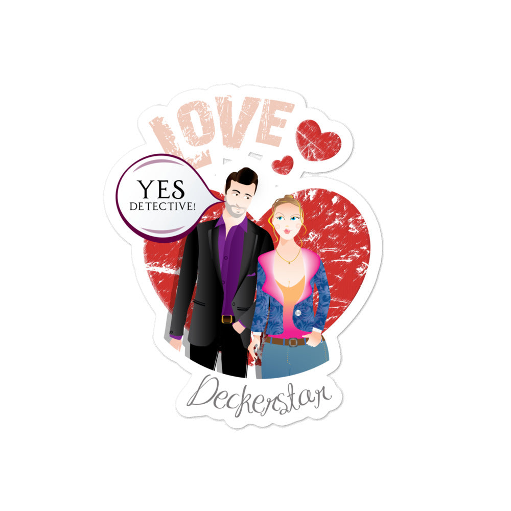 Lucifer- Deckerstar Love - LuciToons - Bubble-free stickers - olafan