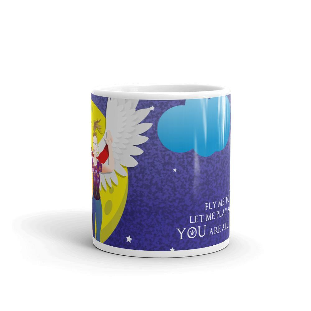 Lucifer - Take me to the Moon - Mug - DeckerstarMug, LuciferDeckerstarMug, LuciferMorningstar, LuciferMug, LuciferPencilHolder