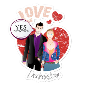 Lucifer- Deckerstar Love-Bubble-free stickers - olafan