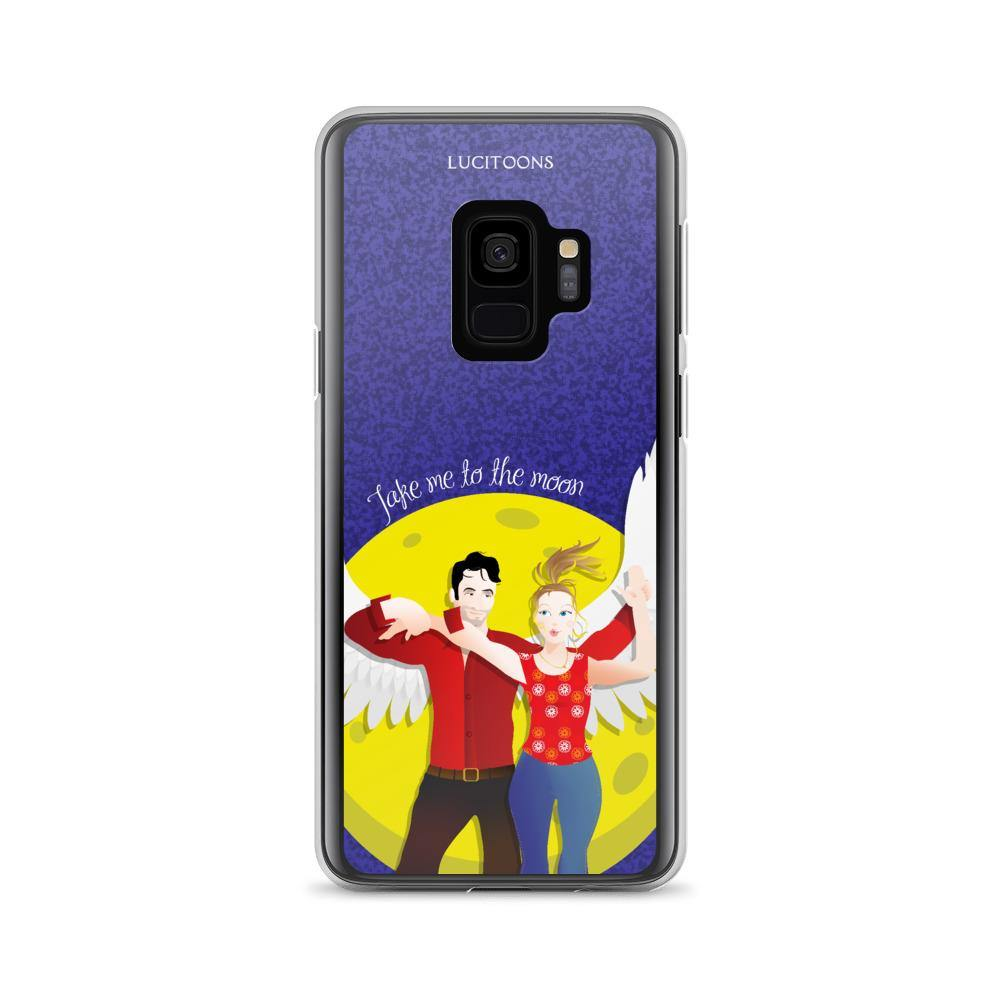 Lucifer - Take me to the Moon - Samsung Case - Galaxy S9 - DeckerstarICase, LuciferCartoon, LuciferCase, LuciferICase, LuciferMorningstar