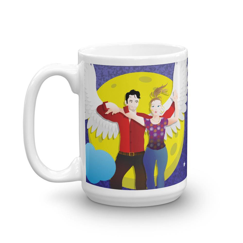 Lucifer - Take me to the Moon - Mug - 15oz - DeckerstarMug, LuciferDeckerstarMug, LuciferMorningstar, LuciferMug, LuciferPencilHolder