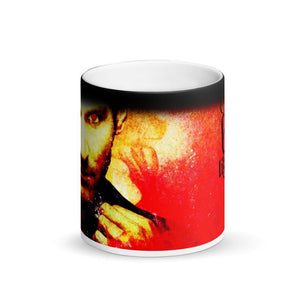 Lucifer - Lucifer Rock - Matte Black Magic Mug - olafan