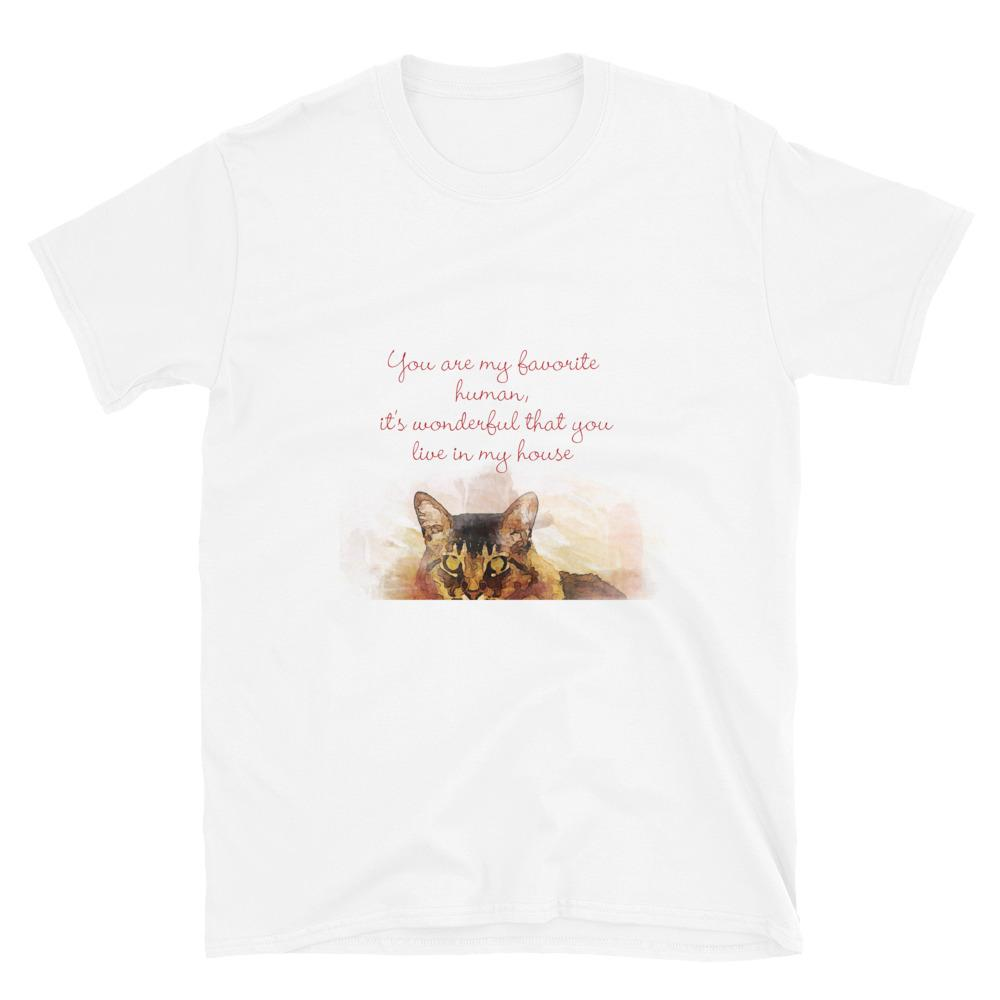 Cat Cute Pets Animals Shirt Unisex - OlaFan