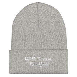 Christmas Cuffed Beanie Personalize City - OlaFan