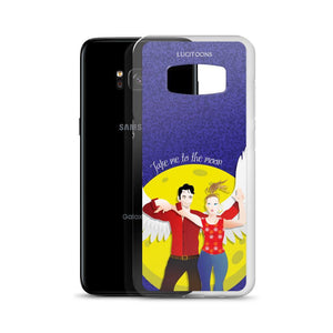 Lucifer - Take me to the Moon - Samsung Case - DeckerstarICase, LuciferCartoon, LuciferCase, LuciferICase, LuciferMorningstar