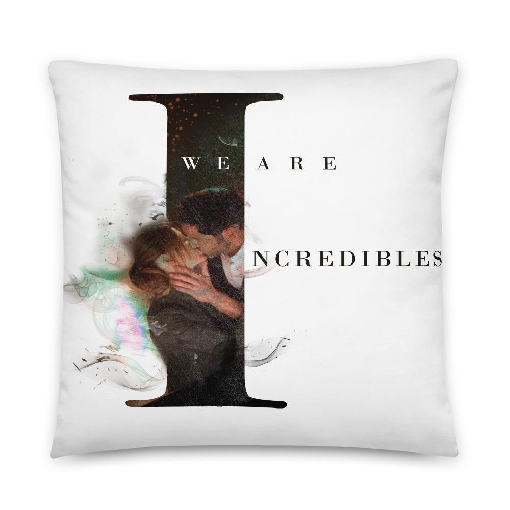Deckerstar Basic Pillow Lucifer Incredible - 22×22 - Home and Decoration almohadón de lucifer, chloedecker, deckerstar, deckerstar