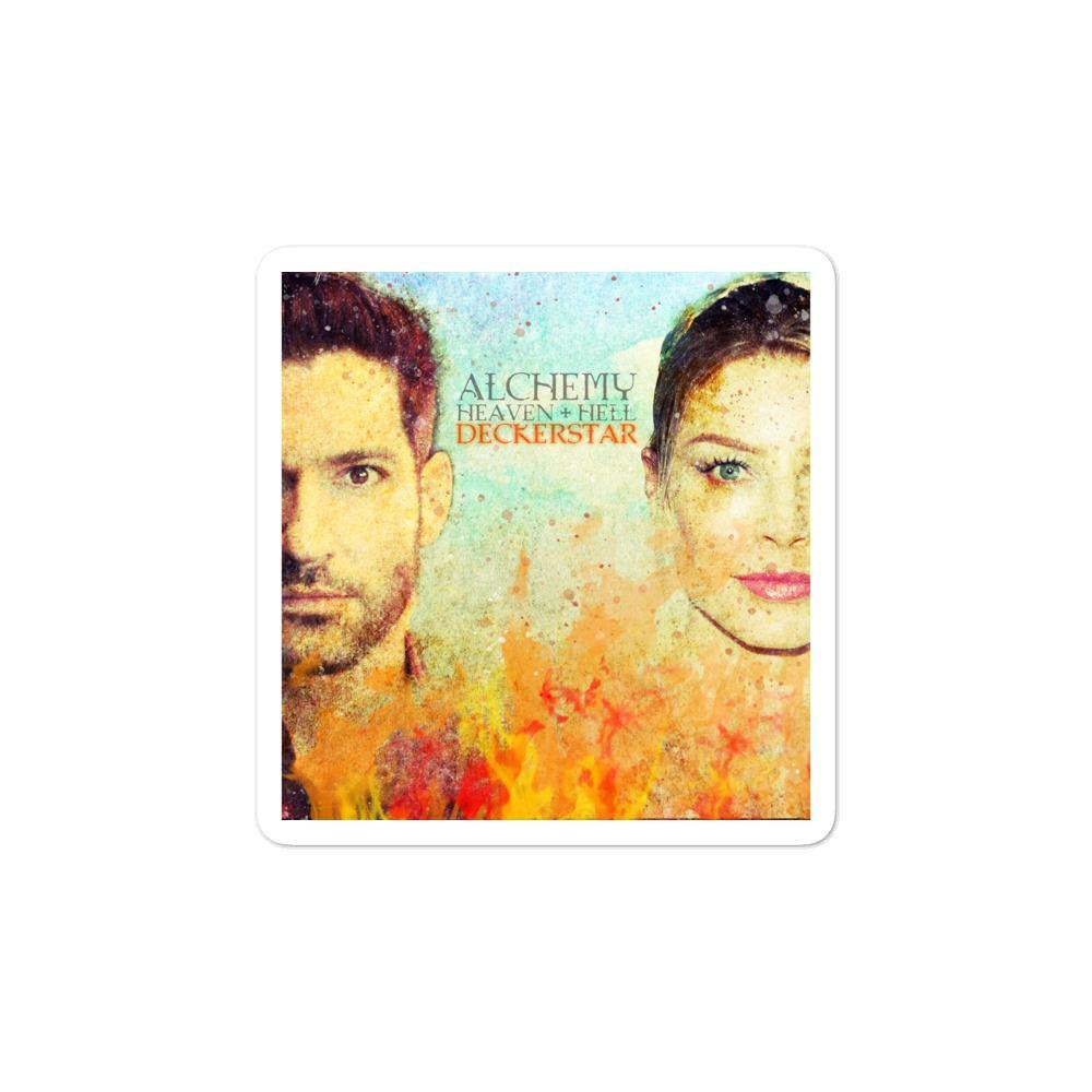 Lucifer - Deckerstar Alchemy - Bubble-free stickers - olafan