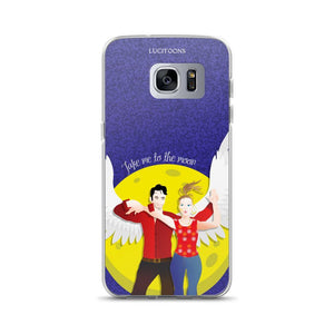 Lucifer - Take me to the Moon - Samsung Case - Galaxy S7 Edge - DeckerstarICase, LuciferCartoon, LuciferCase, LuciferICase,