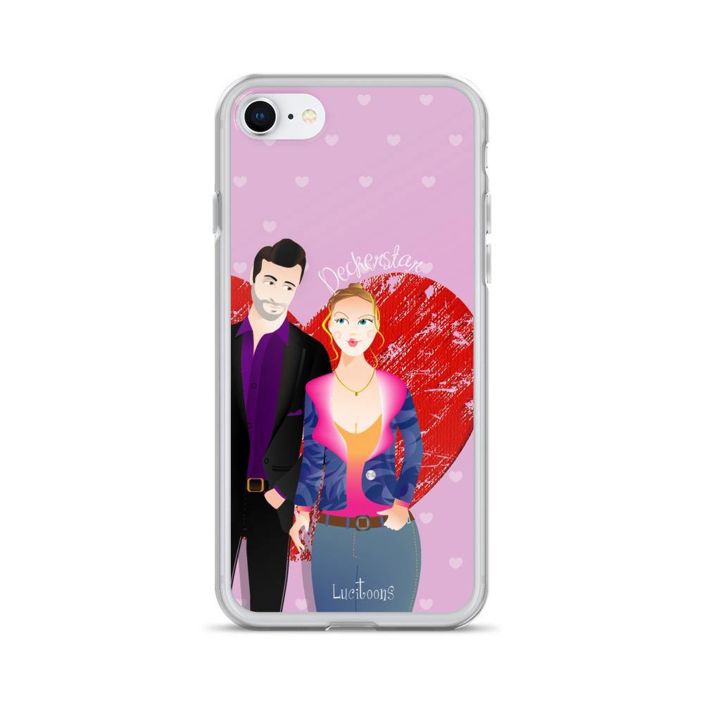 Lucifer - Deckerstar Love - LuciToons - iPhone Case - olafan