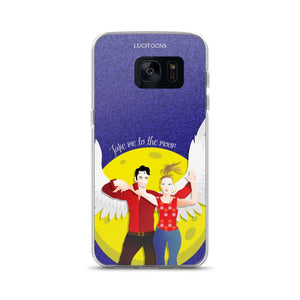 Lucifer - Take me to the Moon - Samsung Case - Galaxy S7 - DeckerstarICase, LuciferCartoon, LuciferCase, LuciferICase, LuciferMorningstar