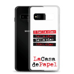 Money Heist - Bella Ciao- Samsung Case - olafan