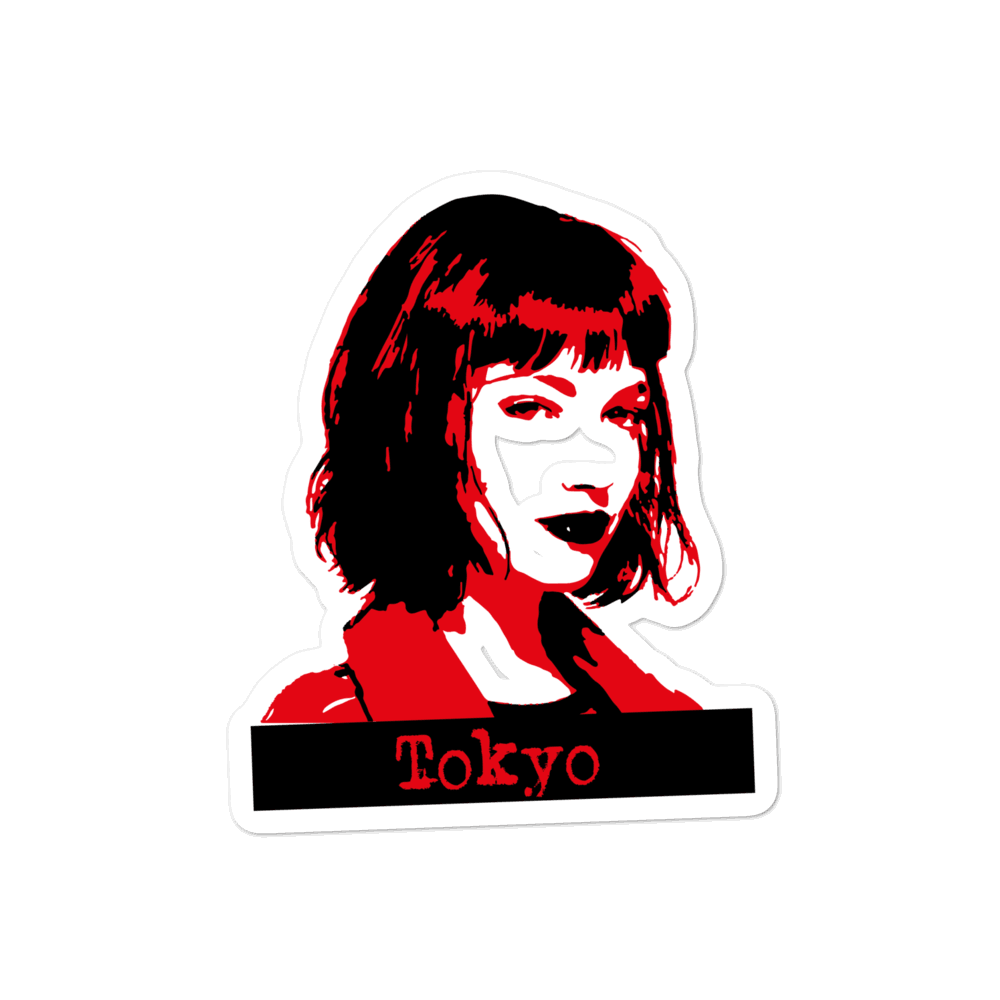 Money Heist- Tokio-Bubble-free stickers - olafan