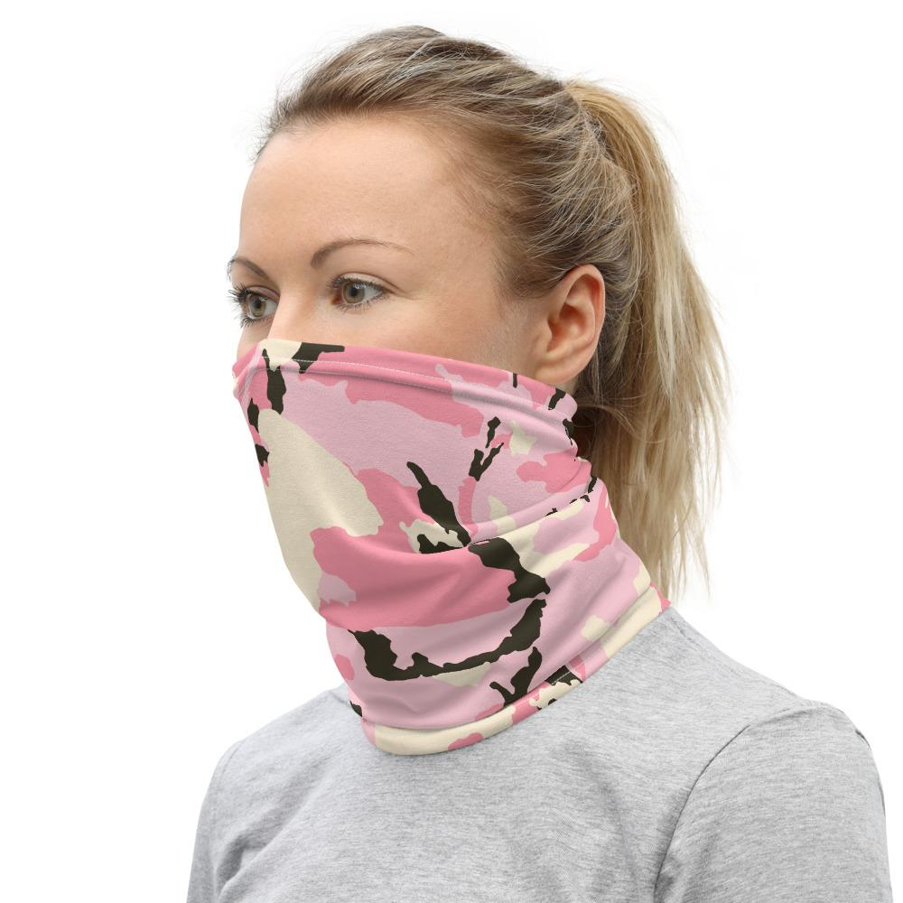 Neck Gaiter -  Face Mask - Rose design