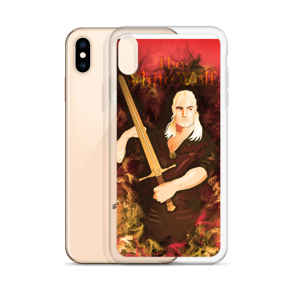 The White Wolf Geralt - iPhone Case - OlaFan