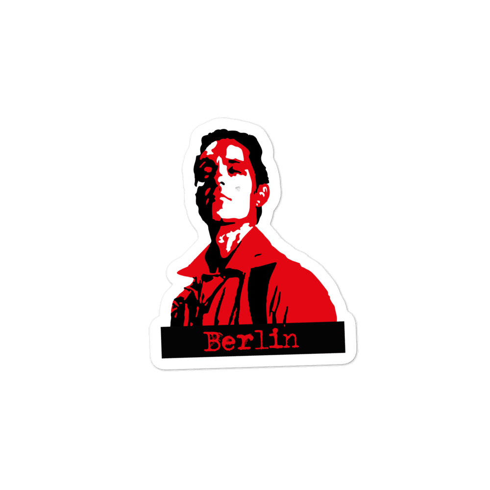 Money Heist-Berlin-Bubble-free stickers - olafan