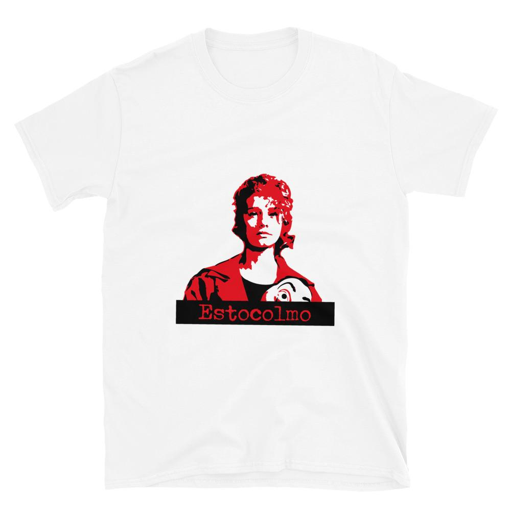 Estocolmo - Money Heist - La Casa de Papel - Sleeve Unisex T-Shirt - OlaFan