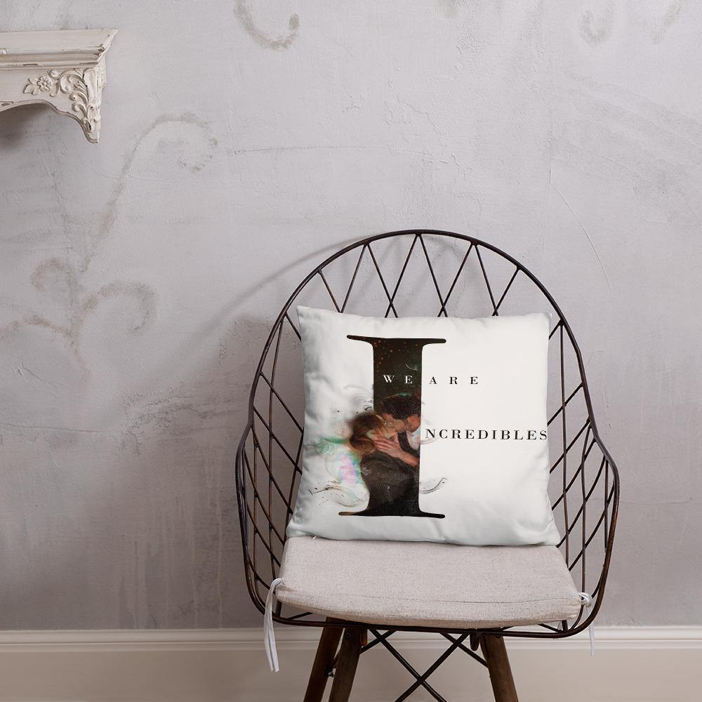Deckerstar Basic Pillow Lucifer Incredible - 18×18 - Home and Decoration almohadón de lucifer, chloedecker, deckerstar, deckerstar