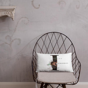 Deckerstar Basic Pillow Lucifer Incredible - 20×12 - Home and Decoration almohadón de lucifer, chloedecker, deckerstar, deckerstar