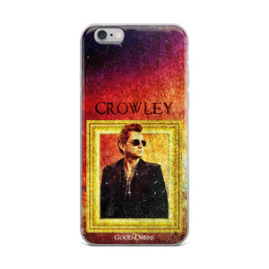 Good Omens - iPhone Case Crowley - olafan