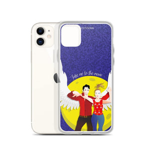 Lucifer - Take me to the Moon - iPhone Case