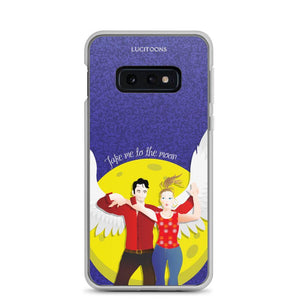Lucifer - Take me to the Moon - Samsung Case - Galaxy S10e - DeckerstarICase, LuciferCartoon, LuciferCase, LuciferICase, LuciferMorningstar