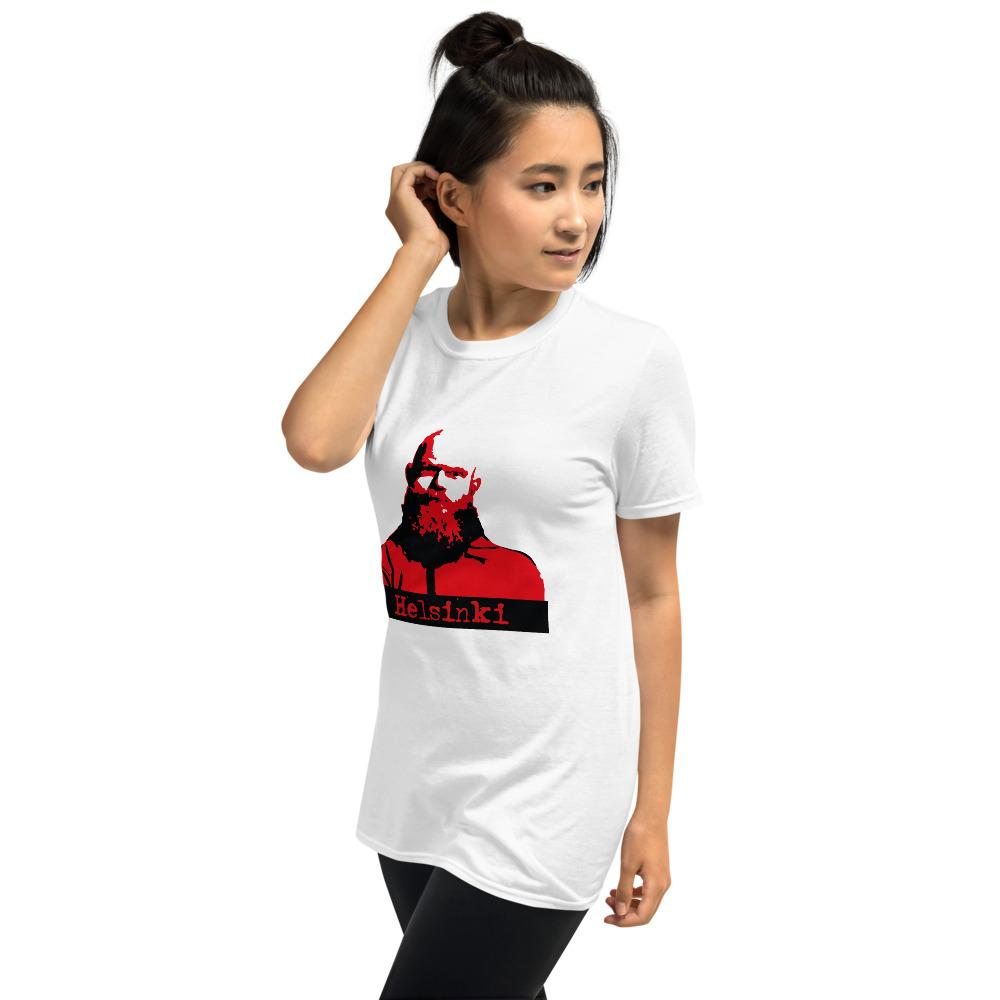 Money Heist helsinki Short-Sleeve Unisex Shirt - OlaFan