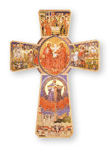 Holy Spirit Wood Cross