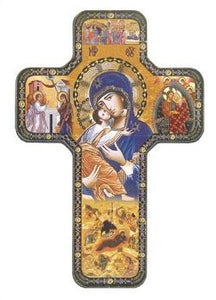 Lady of Perpetual Help Icon Cross