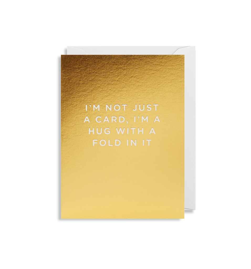 I'm Not Just A Card - Mini Card