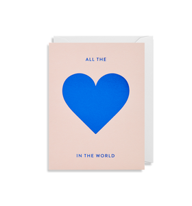 All the Love In The World - Mini Card