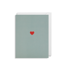 Little Red Heart - Mini Card