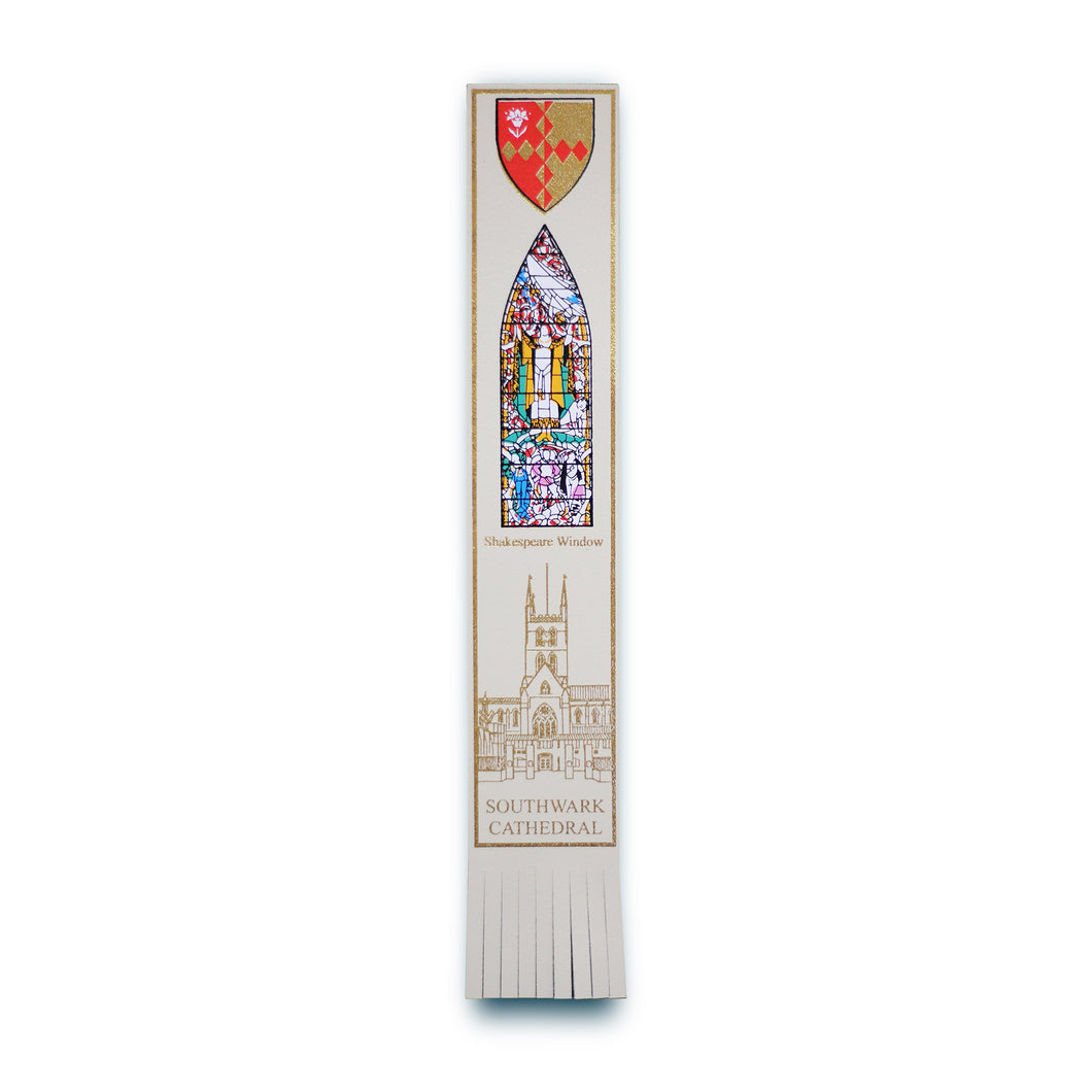 Southwark Cathedral Shakespeare Window Bookmark
