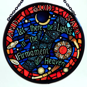 Stained Glass - The Firmament of Heaven Roundel